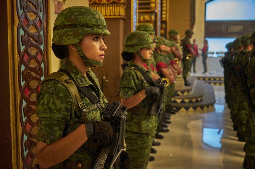 lady army