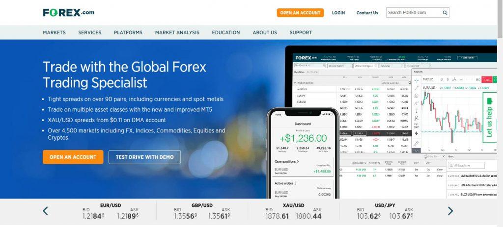 forex.com review 2021 broker breakdown