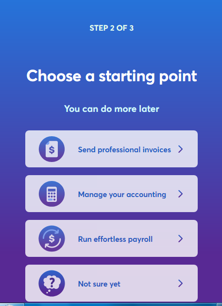 wave accounting signup