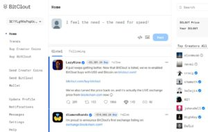 BitClout social media in blockchain