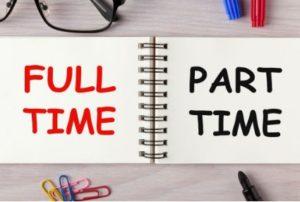full-time vs part-time trader