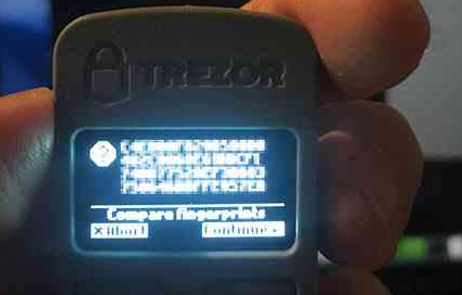 how to use trezor wallet
